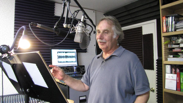 Los Angeles Voice Over Talent Travis adds a bit of magic to a voiceover narration.